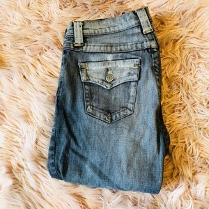 The Limited Sexy Drew Fit Gray Jeans